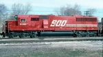 SOO 6055--New SD60